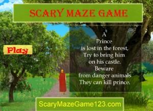 Scary Maze Game 3 le prince perdu
